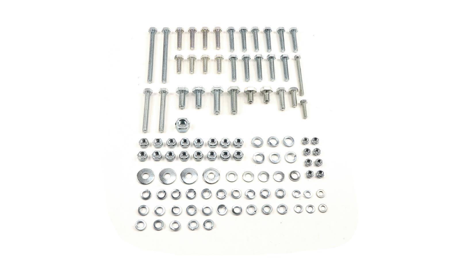 Normteile Satz für Rahmen (100 Teile) TS250, TS250/1, 23,99 &eur