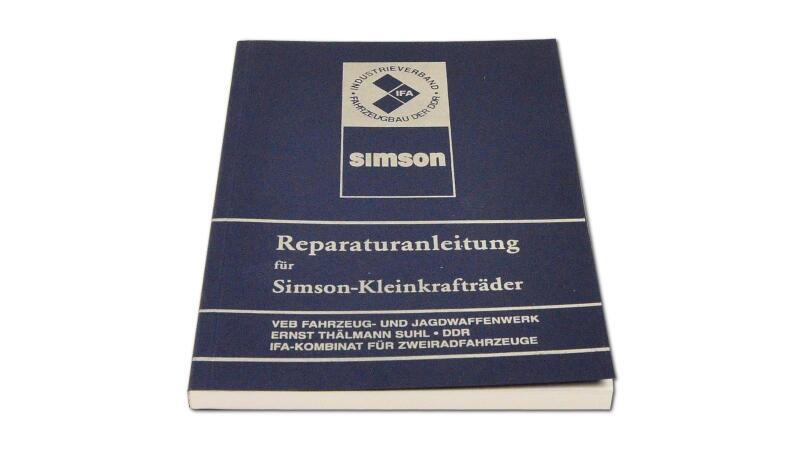 Reparaturanleitung für Simson S50, KR51, SR4 (ohne Schaltpl&auml